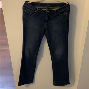 White House Black Market Boot cut slim jeans